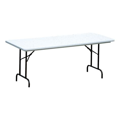 Standard Folding Table Size Correll Antimicrobial Molded Plastic Folding Table Standard Height At School Outfitters