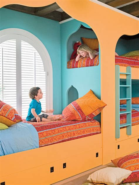 fun kids beds 25 fun and cute kids room decorating ideas digsdigs