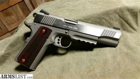 Pistol Gun 1071 armslist for sale colt rail gun 1911 9mm stainless