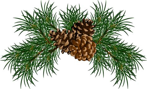 christmas tree with pine cones
