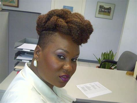 crochet hairstyles with shaved sides shaved side updo marley crochet hairstyle pinterest
