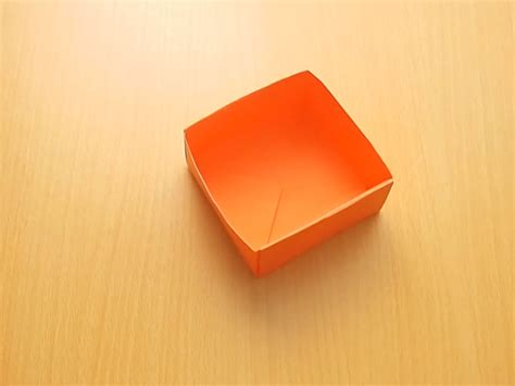How To Fold A Box Using Paper - how to fold a paper box 14 steps with pictures wikihow