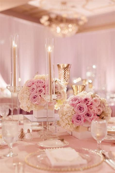 blush pink decor 17 best images about pink wedding on pinterest