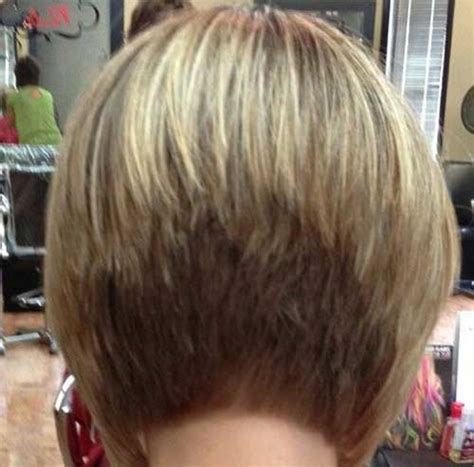 layered bob hairstyle back view 20 best stacked layered bob bob hairstyles 2017 short