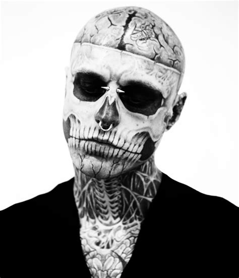 tattoo makeup guy rick genest rick genest photo 22473249 fanpop