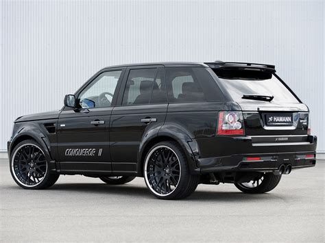 range rover sport modified hamann range rover sport conqueror ii cars modified 2010