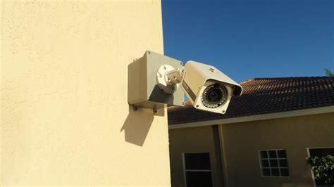 Backyard Surveillance by Home Security Installation About