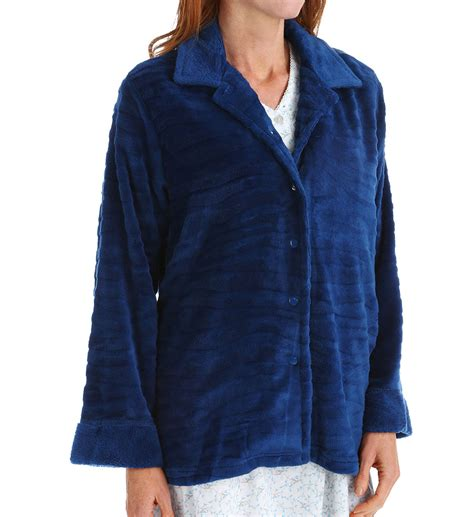 fleece bed jacket miss elaine fleece bed jacket 826545 miss elaine sleepwear