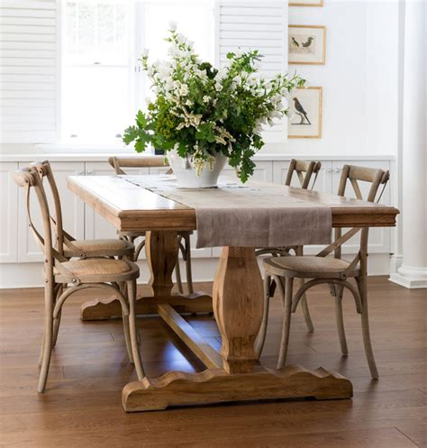 Dining Room Tables Sydney Farmhouse Dining Table Traditional Dining Tables Sydney By Lavender Hill Interiors