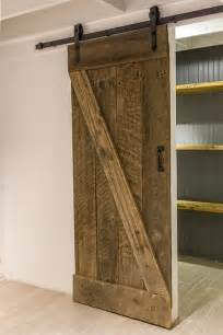Barn Door Style Hardware Remodelaholic 35 Diy Barn Doors Rolling Door Hardware Ideas
