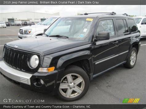2010 Jeep Patriot Limited Brilliant Black Pearl 2010 Jeep Patriot Limited