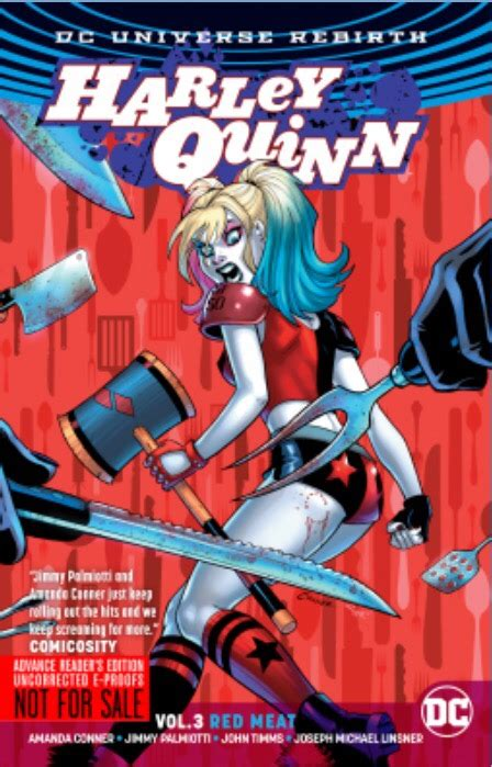 harley quinn vol 3 review harley quinn volume 3 red meat jill s book blog