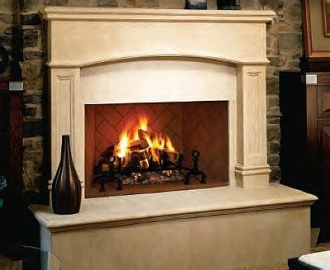indoor wood fireplace vantage hearth winston 36 inch wood burning mosaic masonry indoor fireplace with herringbone