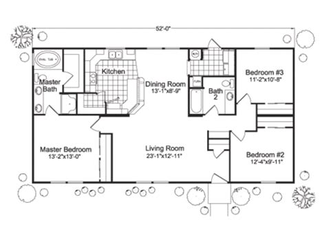 luv homes floor plans open floor plan 1200 sq ft house plans manufactured