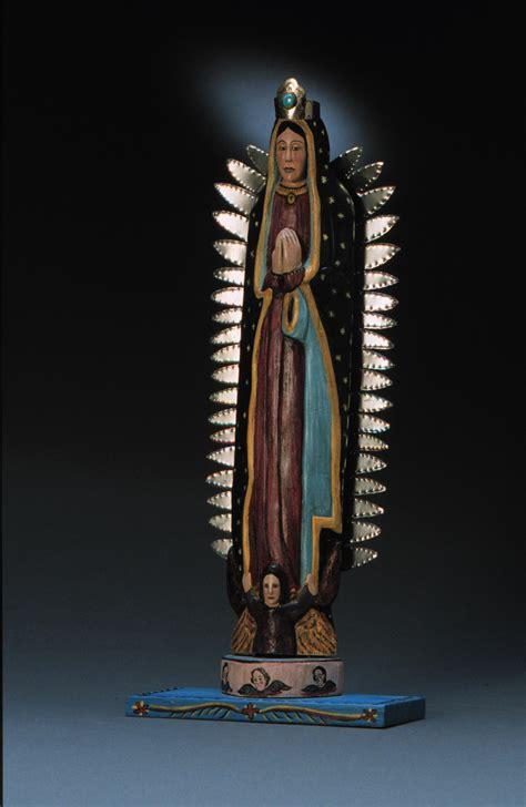 imagenes de virgen de guadalupe en bulto nuestra senora de guadalupe bulto anita romero jones 1978