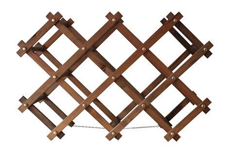 Accordion Wine Rack by Vintage Wooden Accordion Wine Rack Chairish