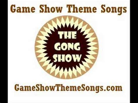 theme to definition game show gong show theme song game show theme songs youtube