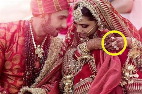 deepika padukone ring deepika padukone s wedding ring cost a whopping amount