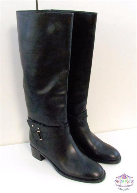 J Crew Extended Calf Dressage Boots by J Crew Vachetta Leather Knee High Extended Calf