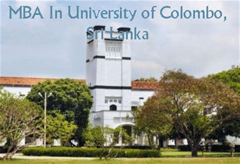 Mba In It Of Moratuwa by Best Mba College In Sri Lanka Mba Courses