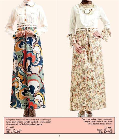 Gamis Sederhana insipirasi gamis muslim fashion