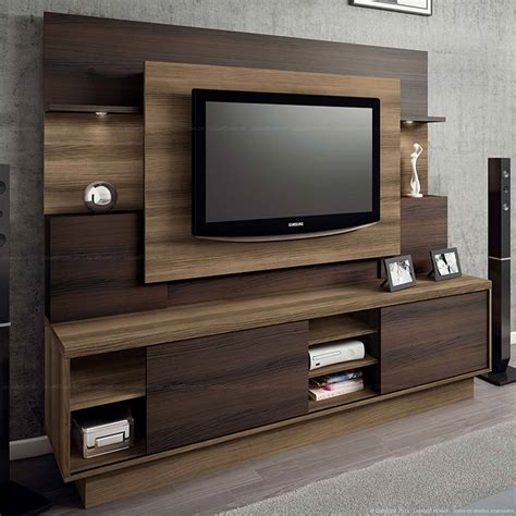 Estante Home Theater Para Tv At 233 55 Polegadas Aron