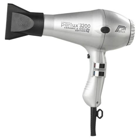 Parlux Hair Dryer parlux 3200 ceramic and ionic hair dryer silver buy