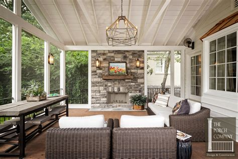 Garage Plans With Porch by Screened Porch And Garage Oasis The Porch Companythe