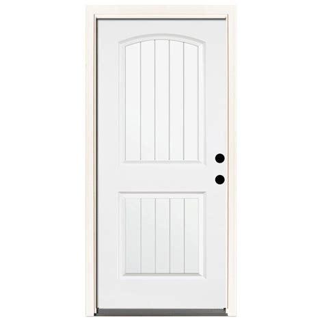 Steves Sons 32 In X 80 In Premium 2 Panel Plank Primed 32 X 73 Exterior Door