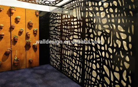 wall screens decorative outdoor screen divider used for park garden wall