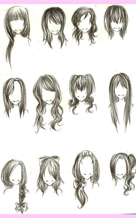 Drawing Hair 100 ideas to try about anime drawing tutorials