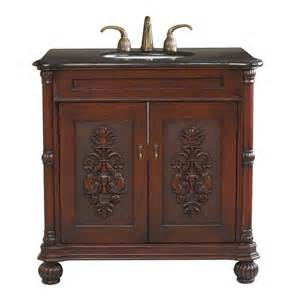 bathroom vanity undermount sink shop bellaterra home colonial cherry undermount single