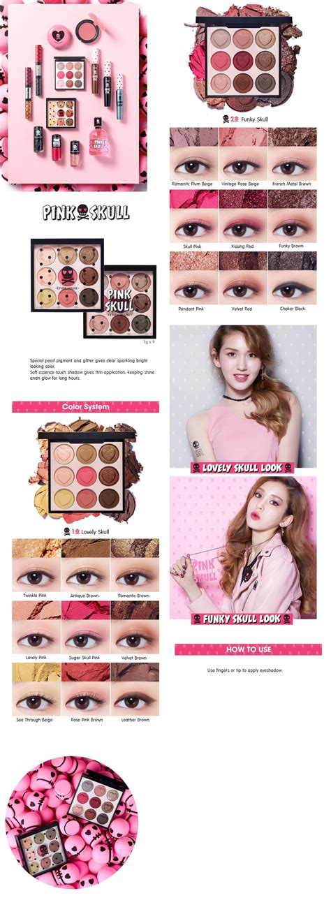 Etude House Pink Skull Pink Q 1 etude house pink skull color korean cosmetic makeup product shop malaysia singapore