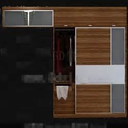 einfache kleiderschr nke einfache schlafzimmer kleiderschrank kombination 3d model