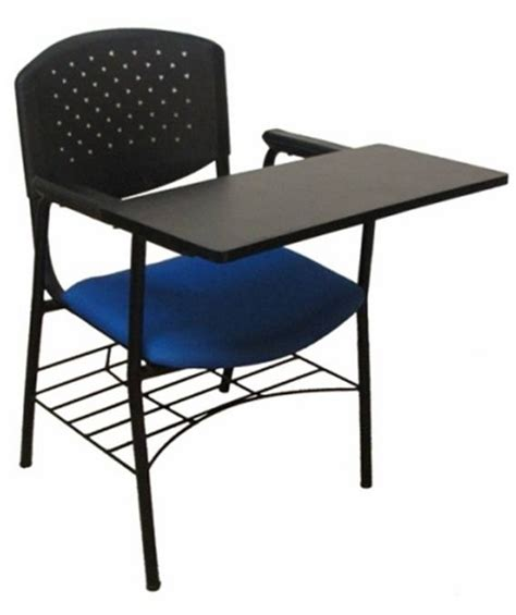 Chair With Pad fancy chair with writing pad weltech engineers pvt ltd