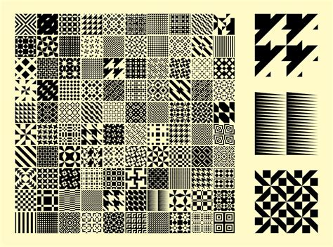 pattern square vector patterns vector art graphics freevector com