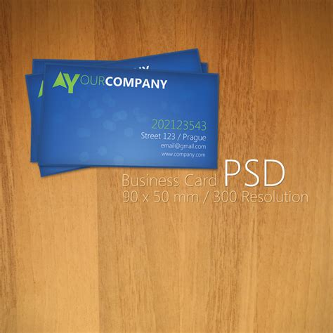 psd business card blue business card psd by martz90 on deviantart