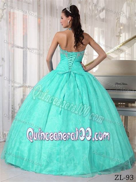 Sweety Lace Dress Blue 18 Lovely 2015 lovely appliqued mint colored sweet sixteen dresses with