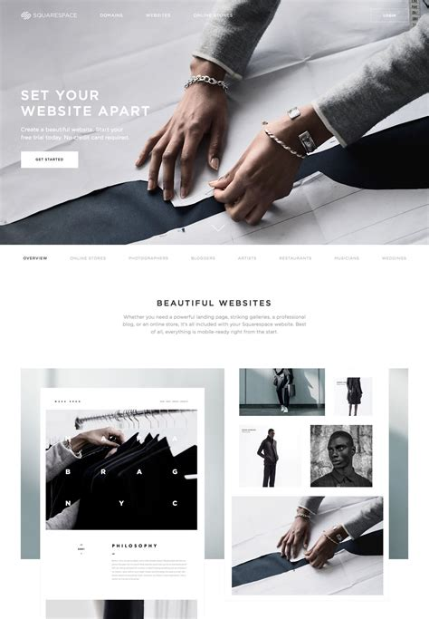 10 Great Landing Page Designs Creative Bloq Squarespace Landing Page Templates
