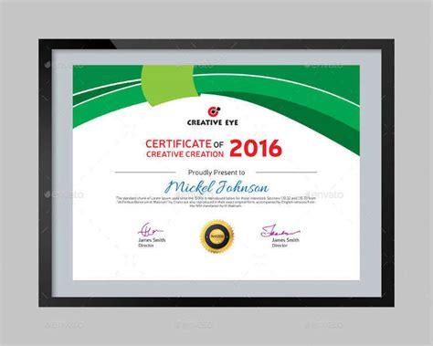 creative certificate templates 28 best certificate designs free premium templates