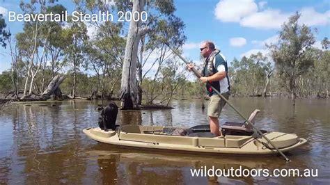 beavertail boat blind youtube beavertail stealth 2000 youtube