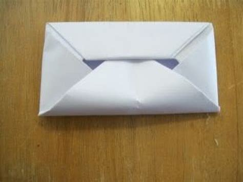 Folding A4 Paper Into Envelope - how to make an envelope without glue or hd