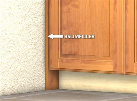 kitchen cabinet filler slim base cabinet filler
