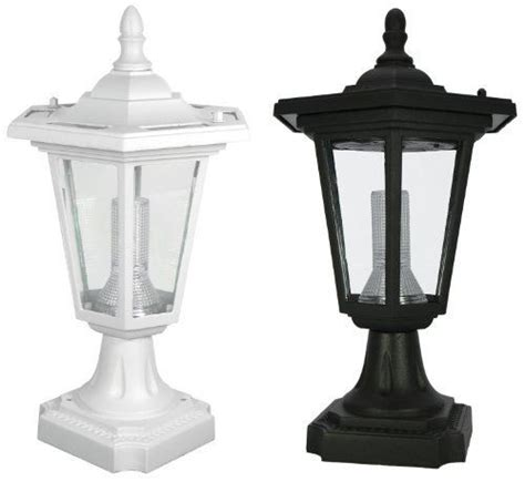 Pp09 Solar Coach Lantern Pillar Column Pedestal Solar Lights For Pillars