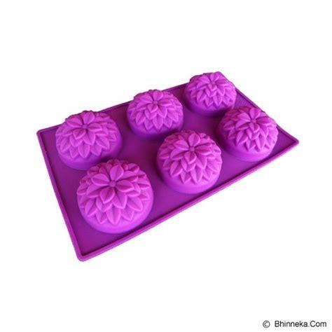 Cetakan Kue Cetakan Jeli Silicon Food Grade jual cetakan jelly daffodil murah bhinneka