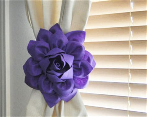 how to make flower curtain tie backs 78 curtain tie backs to take inspiration from patterns hub