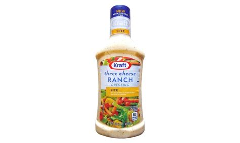 how many calories in light ranch dressing kraft light ranch dressing nutrition information besto