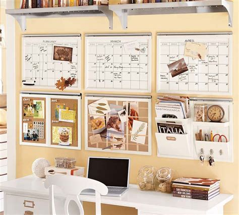 Home Office Ideas Pottery Barn And The Green Update Organize And Refresh Your