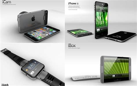 apple product concepts of apple products in 2012