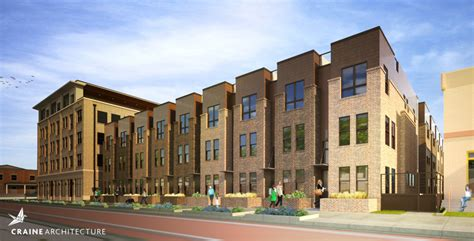 luxury townhomes denver craine architecture denver architecture firms